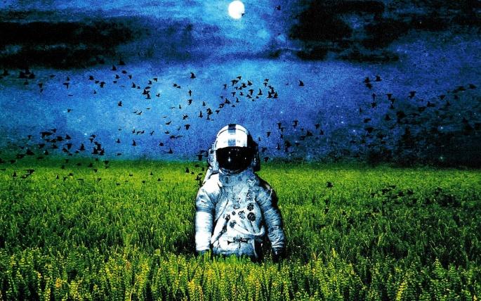 Космонавты и астронавты. Astronaut (66 обоев)
