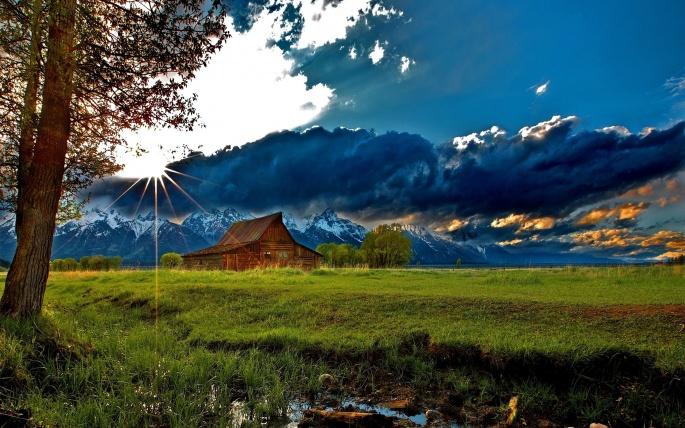 Коттеджи на грани земли. Cottage (64 обоев)