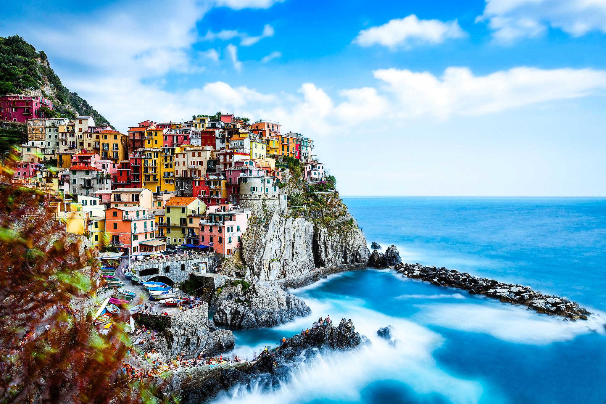 италия пляжи обои на рабочий стол № 507103 загрузить