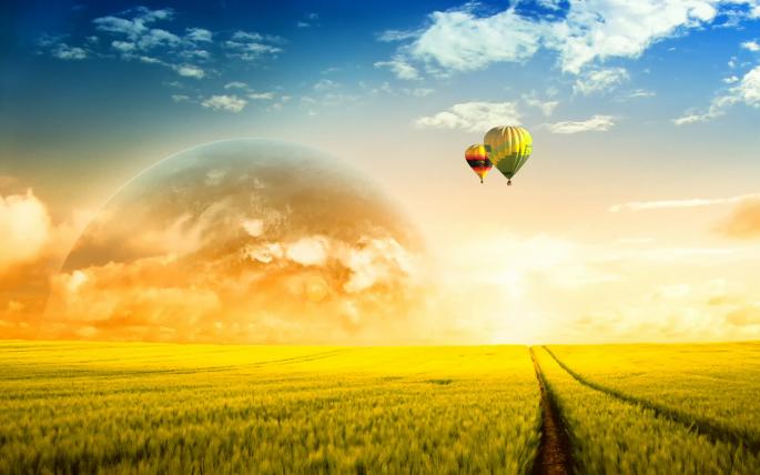 Мир мечты. A Dreamy World (69 обоев)