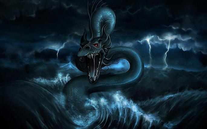 Морские чудовища. Sea Monster (69 обоев)