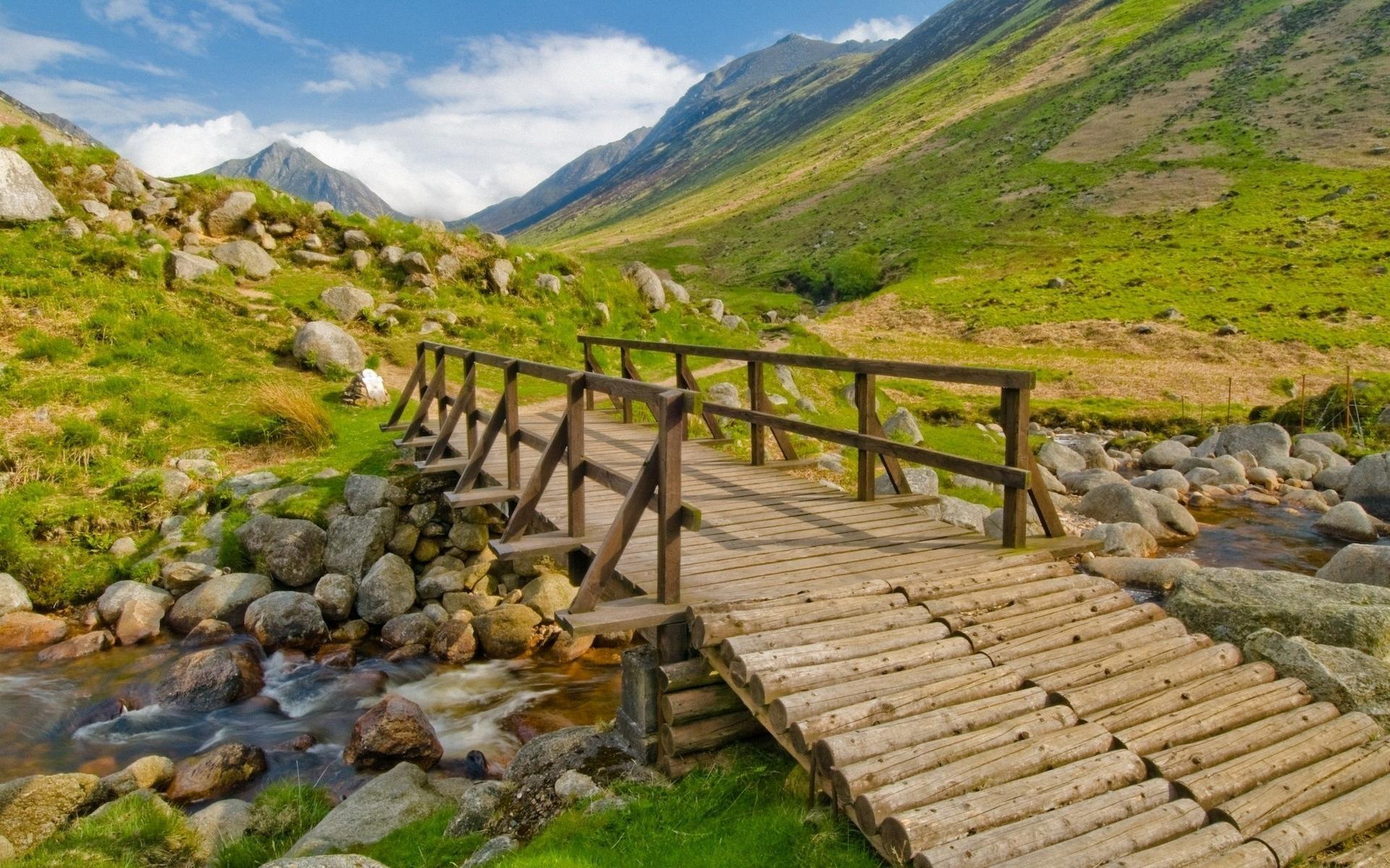 Мост речке своими руками