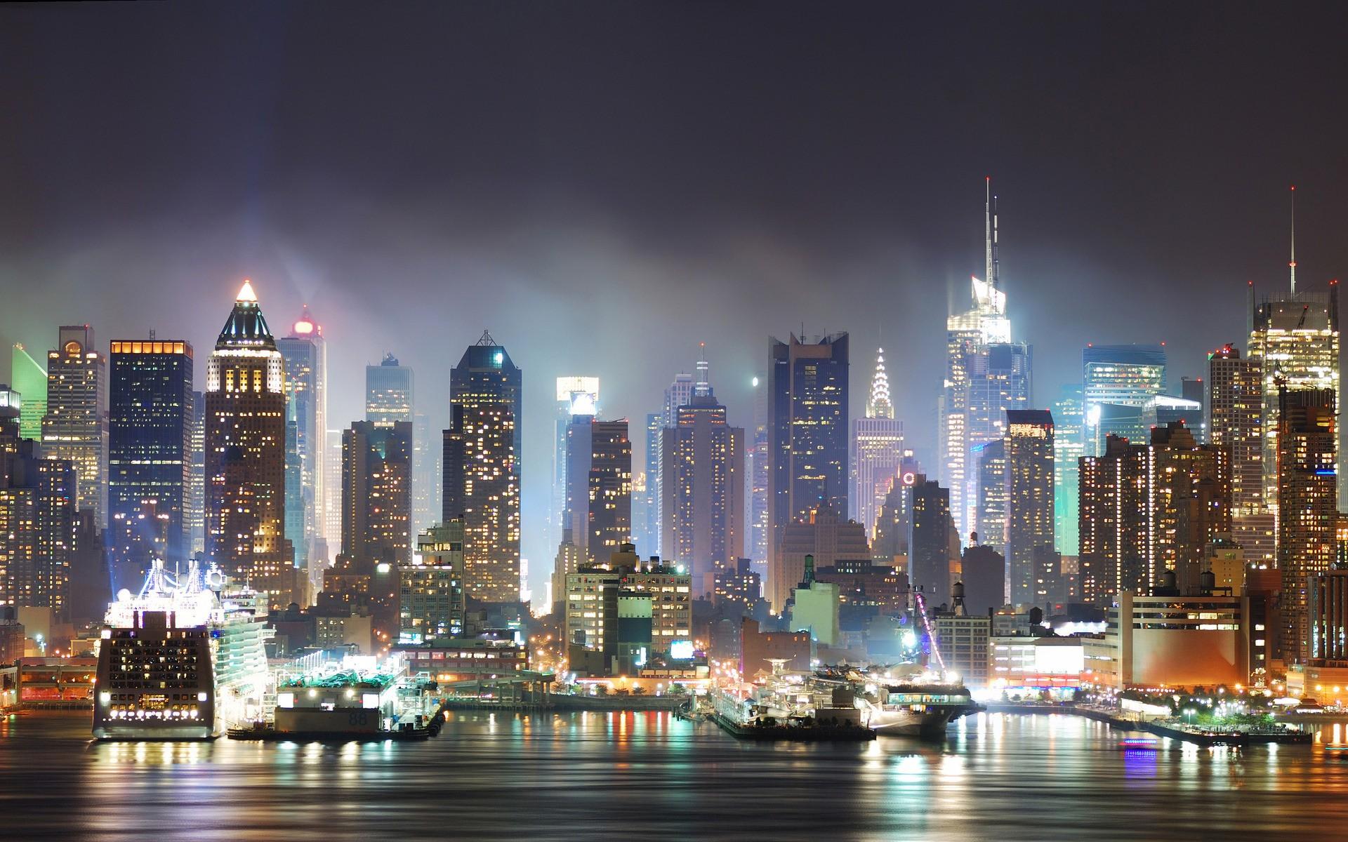 Обои new york, Корабли. Города foto 12