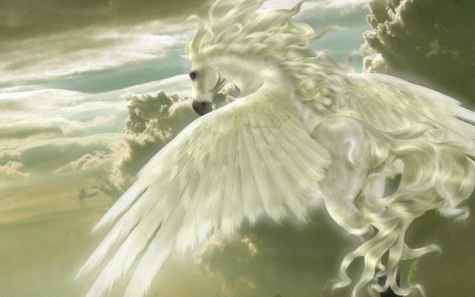 Пегас. Pegasus (35 обоев)