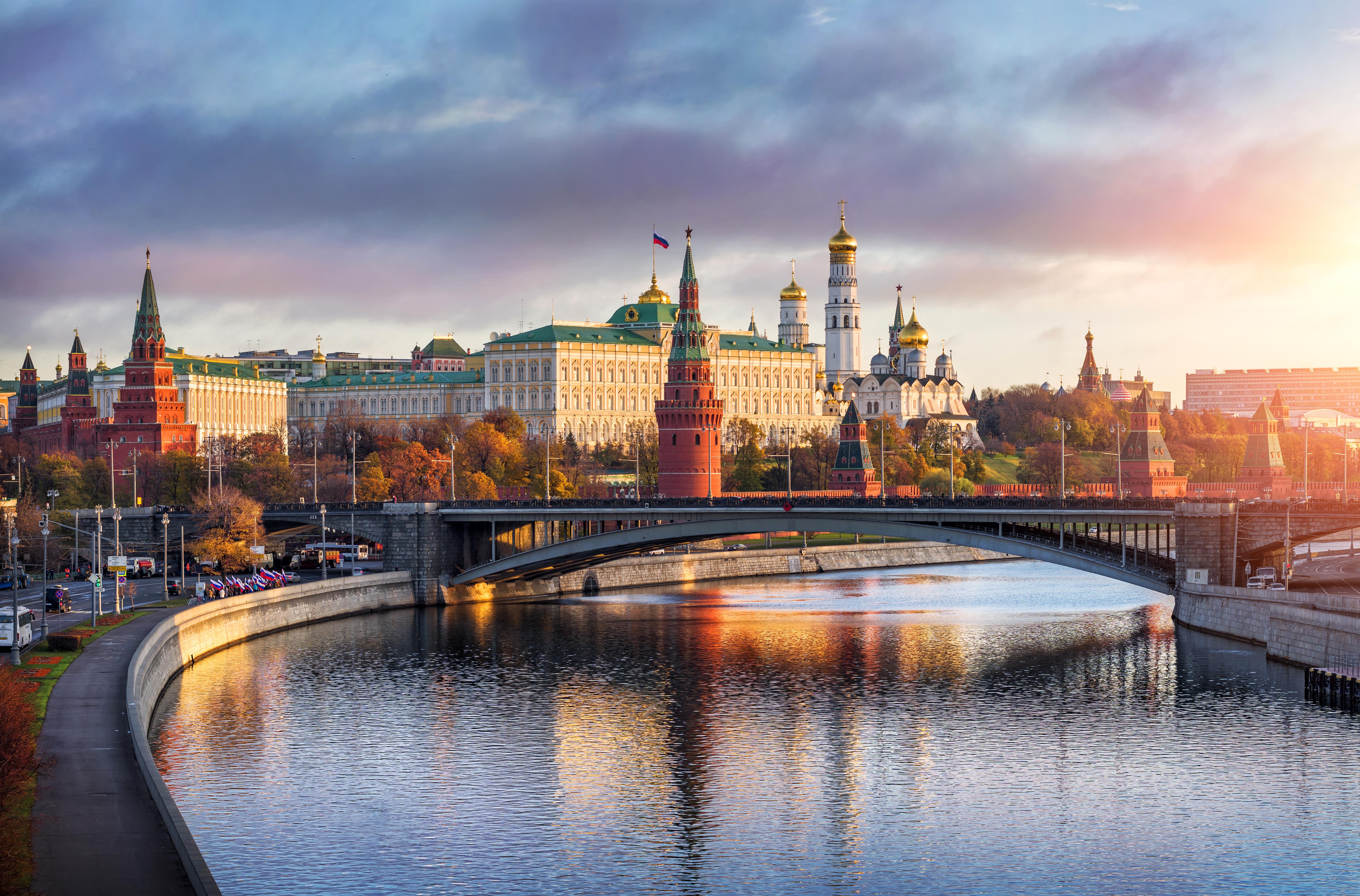 Красивые обои на российской фотографии архитектурная