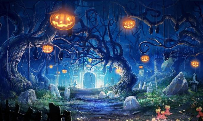 Сказка на ночь. Fairy tale (64 обоев)