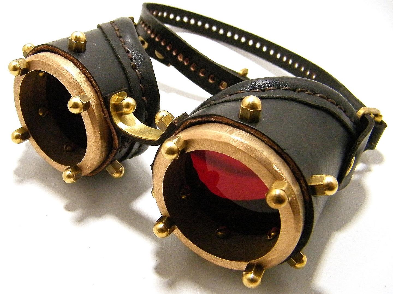 Steampunk очки своими руками 31