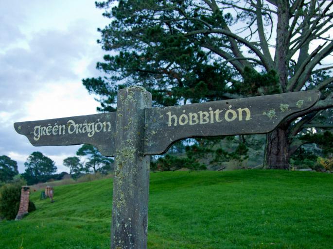 Территория Хоббита. Hobbiton (38 обоев)