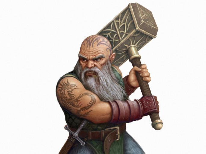 Фантастический карлик. Dwarf (39 обоев)