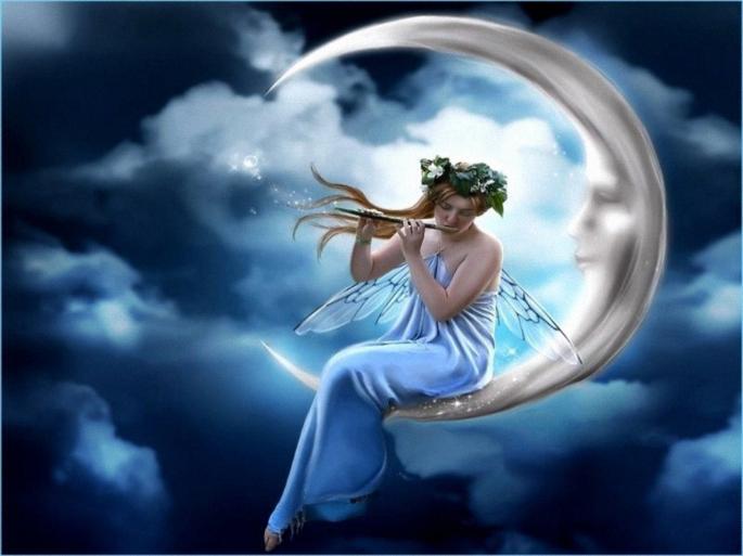 Феи и волшебницы. Fairy (64 обоев)