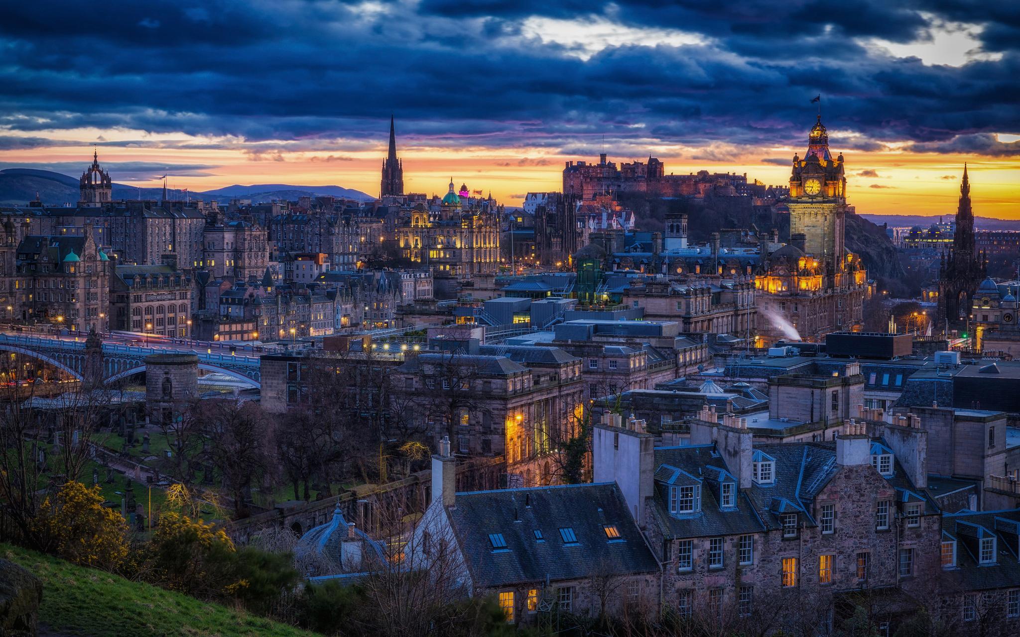 Обои Шотландия, эдинбург, маяк. Пейзажи foto 18