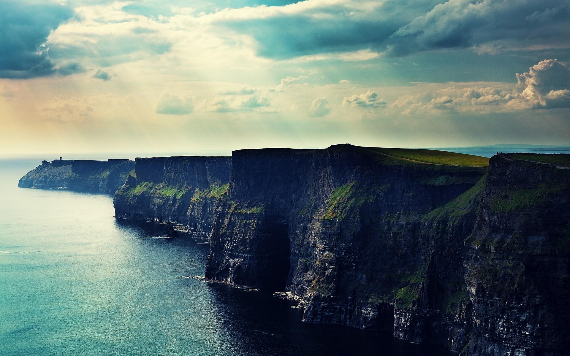 Обои scotland, alba, Шотландия, Облака, скалы. Пейзажи foto 19