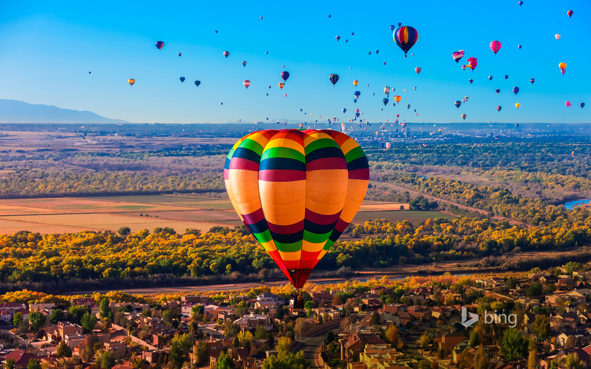 Обои воздушные шары, Облака, аэростаты, Монгольфьеры. Авиация foto 11