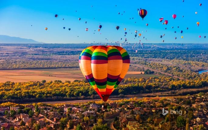 Воздушные шары. Balloons (20 обоев)