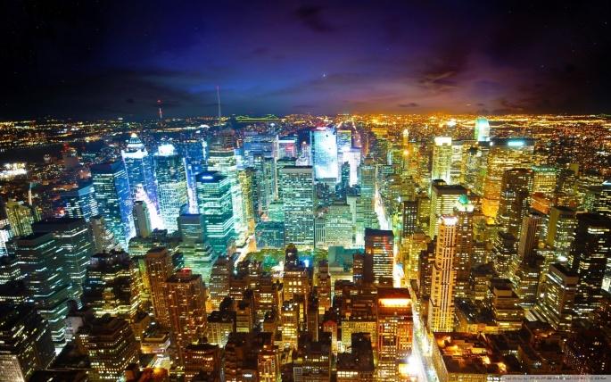 Города. Cities (45 обоев)