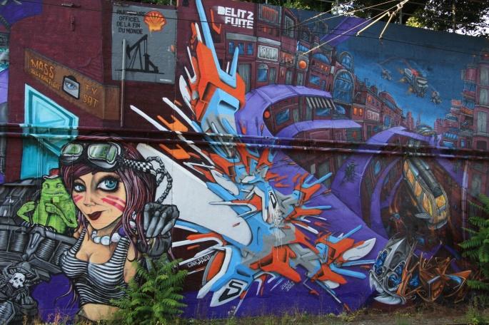 Граффити на стенах (47 обоев)