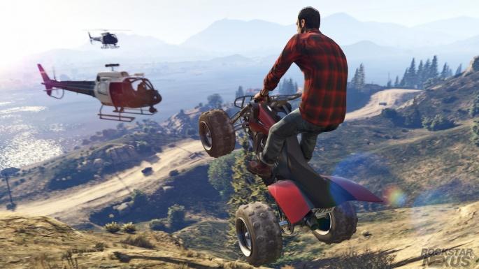 ГТА 5. Grand Theft Auto 5 (12 обоев)