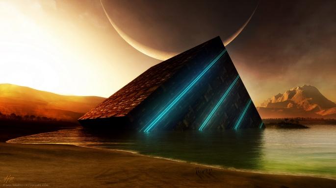Дистанционное вселенная. Distant universe (100 обоев)