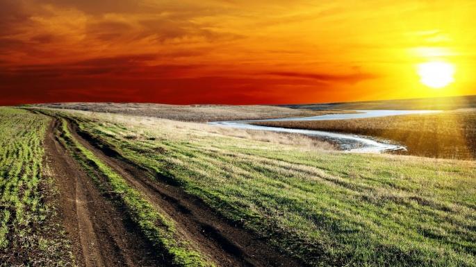 Закат. Sunset (198 обоев)