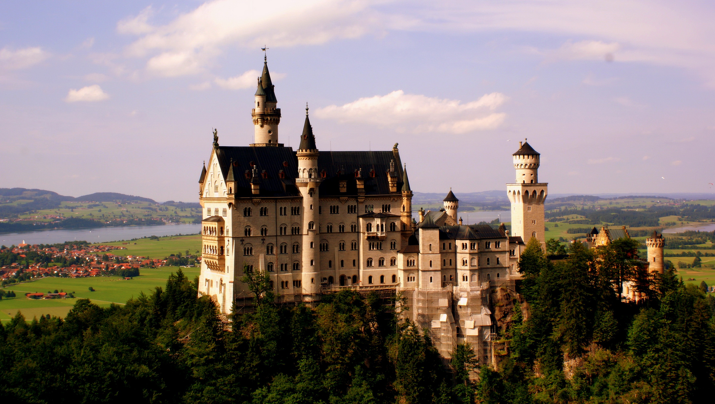 Обои юго-западная, бавария, германия, замок. Города foto 16
