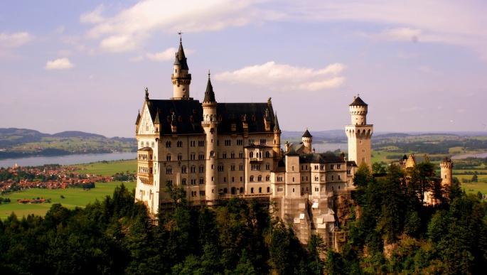 Замок Нойшванштайн. Neuschwanstein Castle (54 обоев)