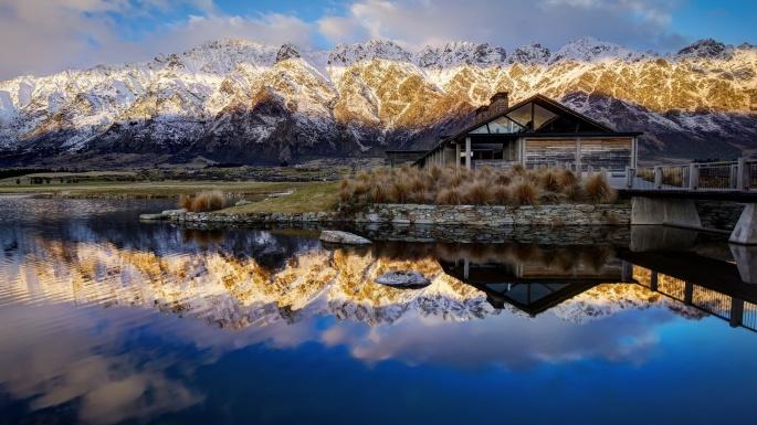 Зеркальная природа. Mirror nature (70 обоев)