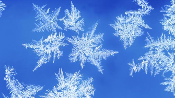 Зимние узоры. Winter patterns (16 обоев)
