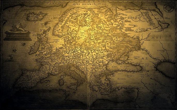 Карты мира. Maps of the world (102 обоев)