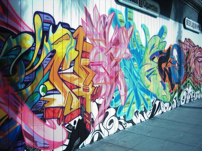 Красивое граффити. Beautiful graffiti (63 обоев)