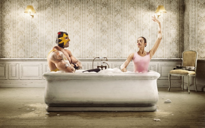 Креативные обои. Creative wallpaper (550 обоев)