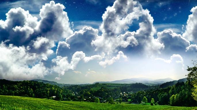 Небо. Sky (80 обоев)
