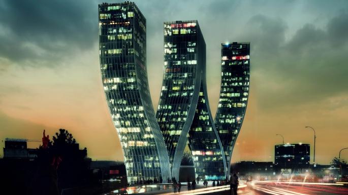 Ночной город. Night City (100 обоев)