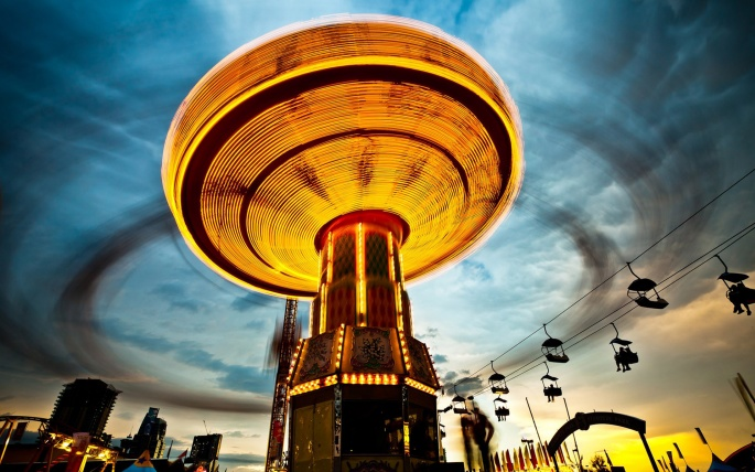 Парки развлечения в разных странах. Amusement parks in different countries (56 обоев)