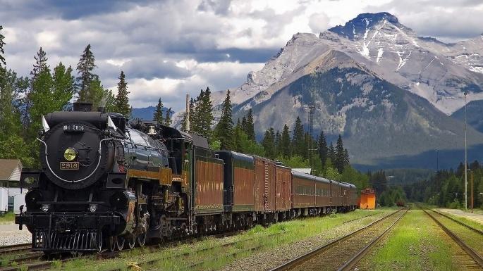 Поезда. Train (85 обоев)