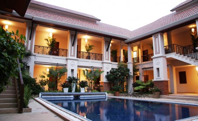 Роскошные дома с бассейном. Luxury home with pool (43 обоев)